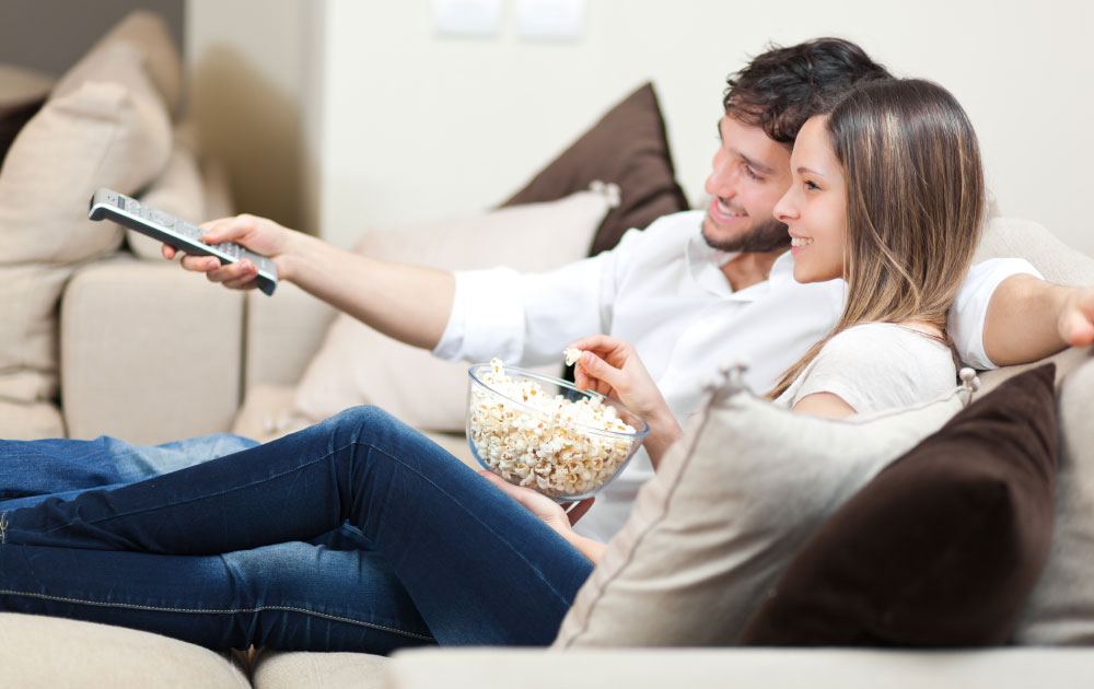 Цифровое телевидение </br>и быстрый интернет