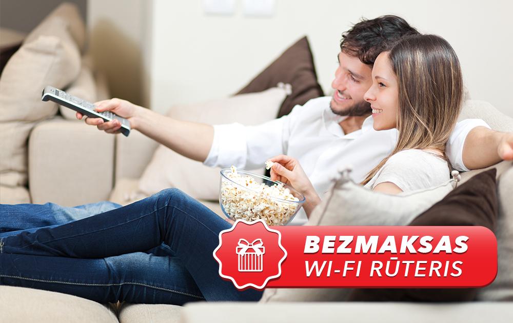 Digitālā televīzija </br>un ātrs internets