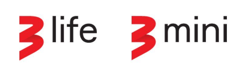 3 Life, 3 Mini logo