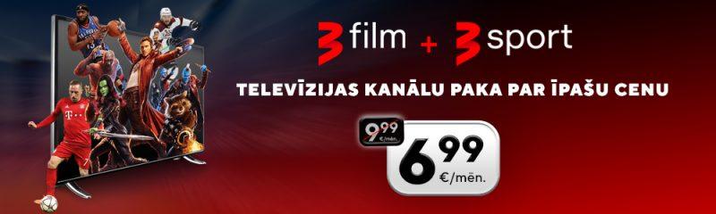 TV3 Film+Sport akcija