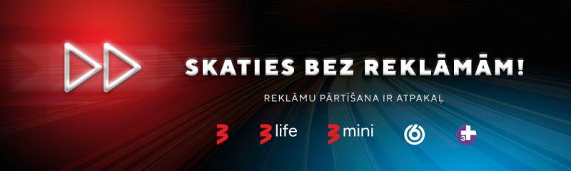 TV3 reklāmas pārtīšana