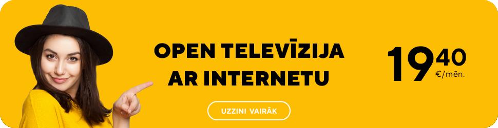 OPEN televīzija ar internetu