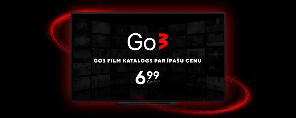 Go3 Film katalogs 6.99€/mēn.